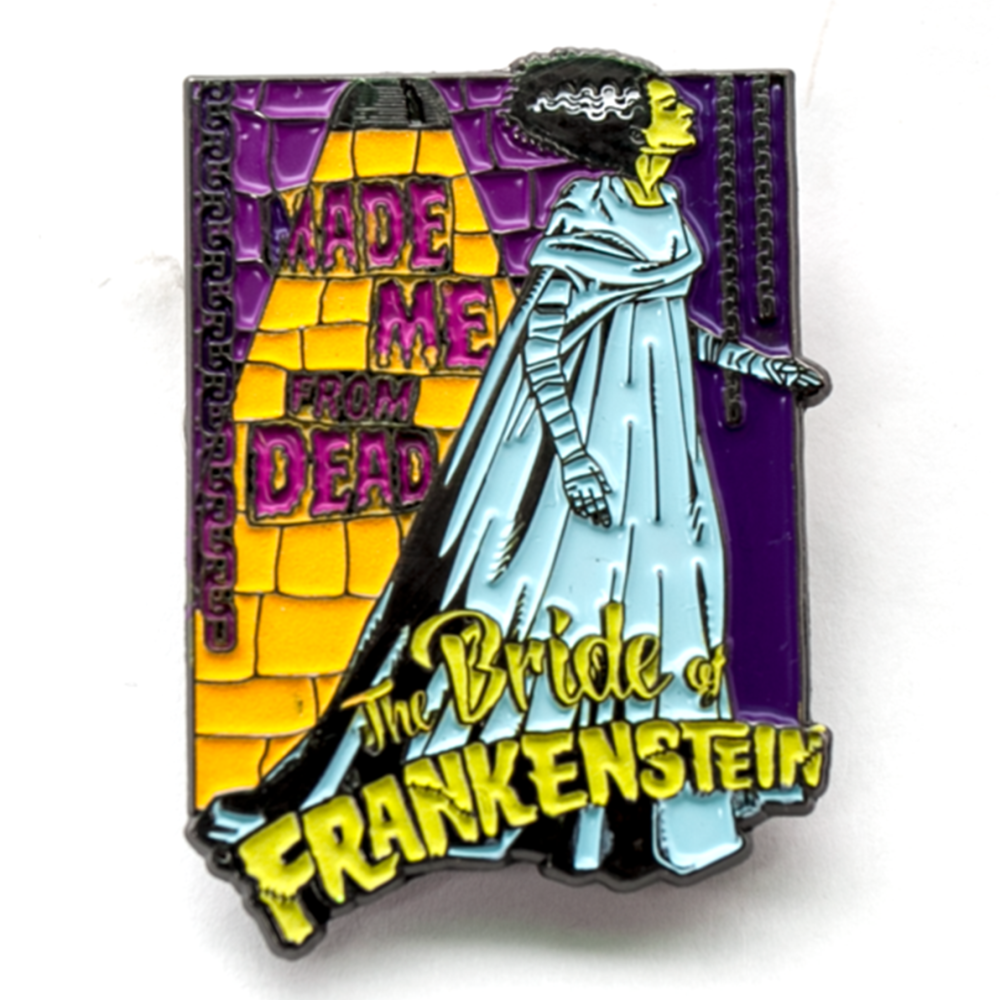 Bride Of Frankenstein Made Me From Dead Badge