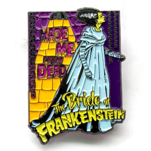 Bride Of Frankenstein Made Me From Dead Badge