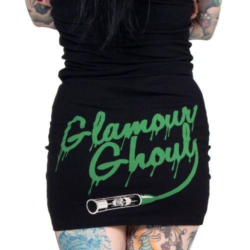 Kreepsville 666 Glamour Ghoul Mini Skirt