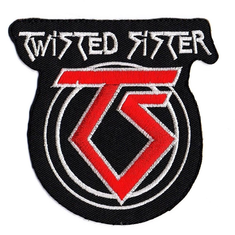 Twisted Sister Logo Patch