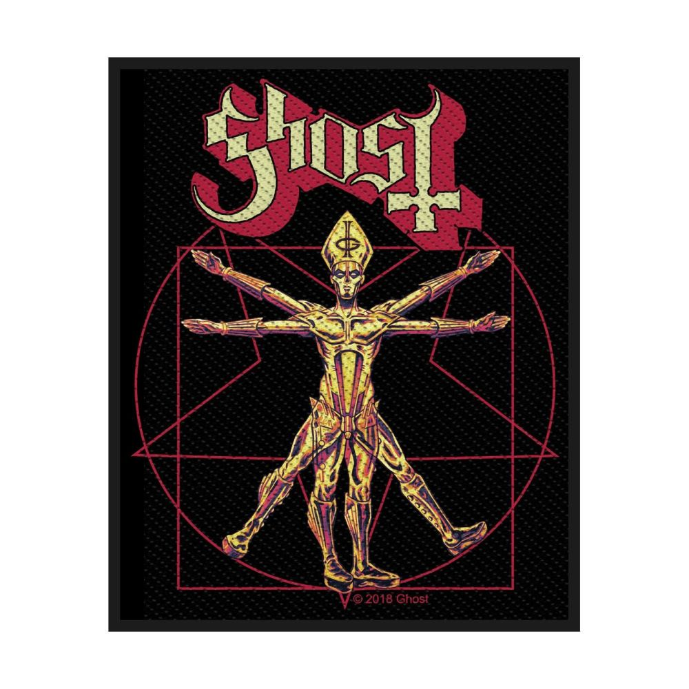 Ghost The Vitruvian Ghost Patch