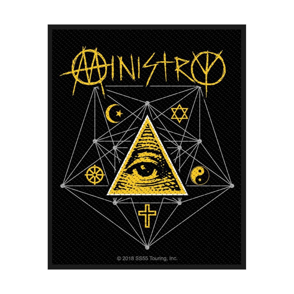 Ministry All Seeing Eye Patch