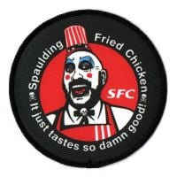 House Of 1000 Corpses Captain Spaulding Fried Chicken Patch