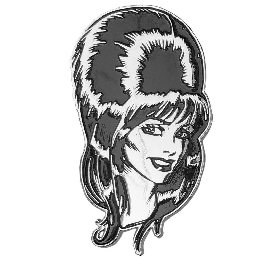 Kreepsville 666 Elvira Mega Head Badge