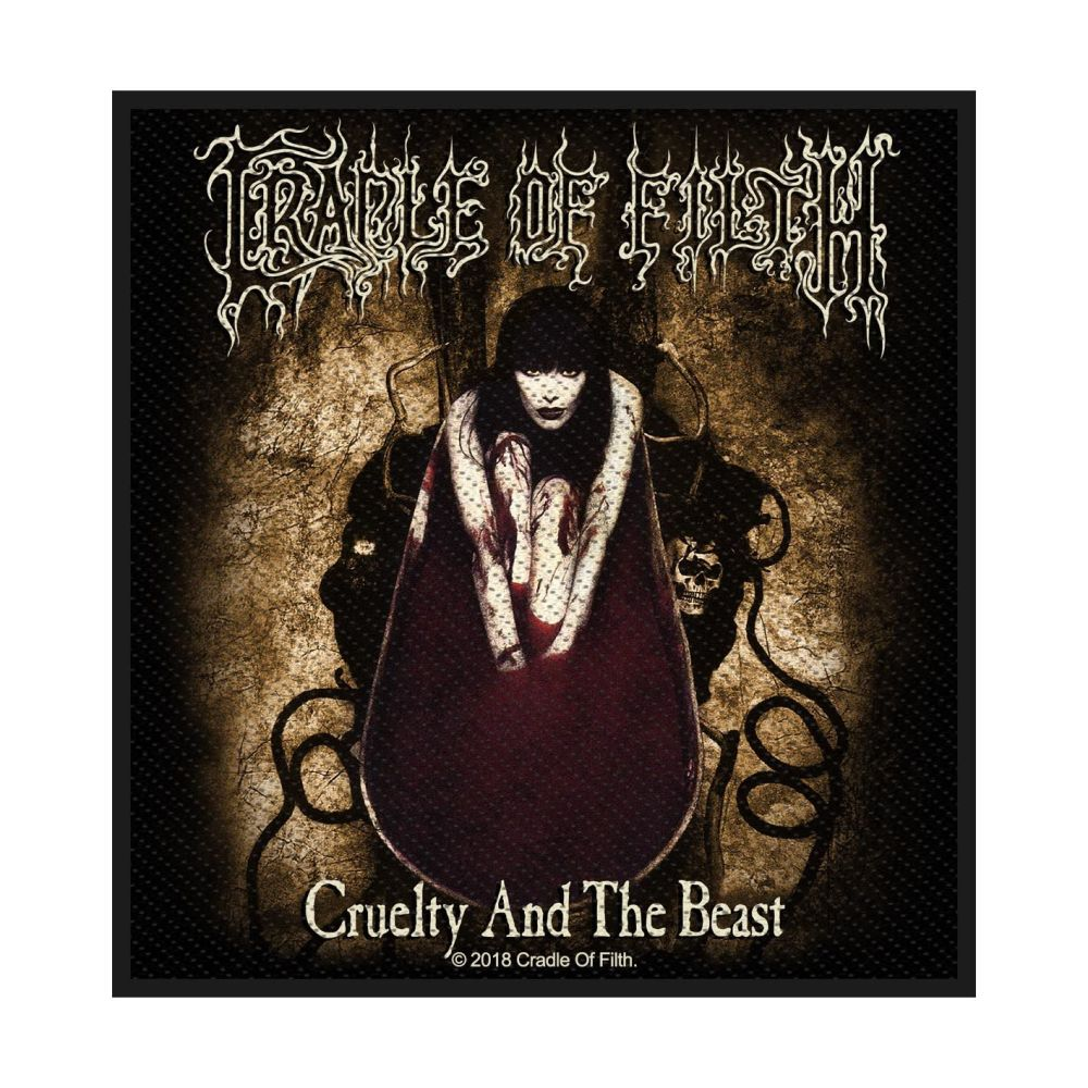 Cradle Of Filth Cruelty And The Beast Patch