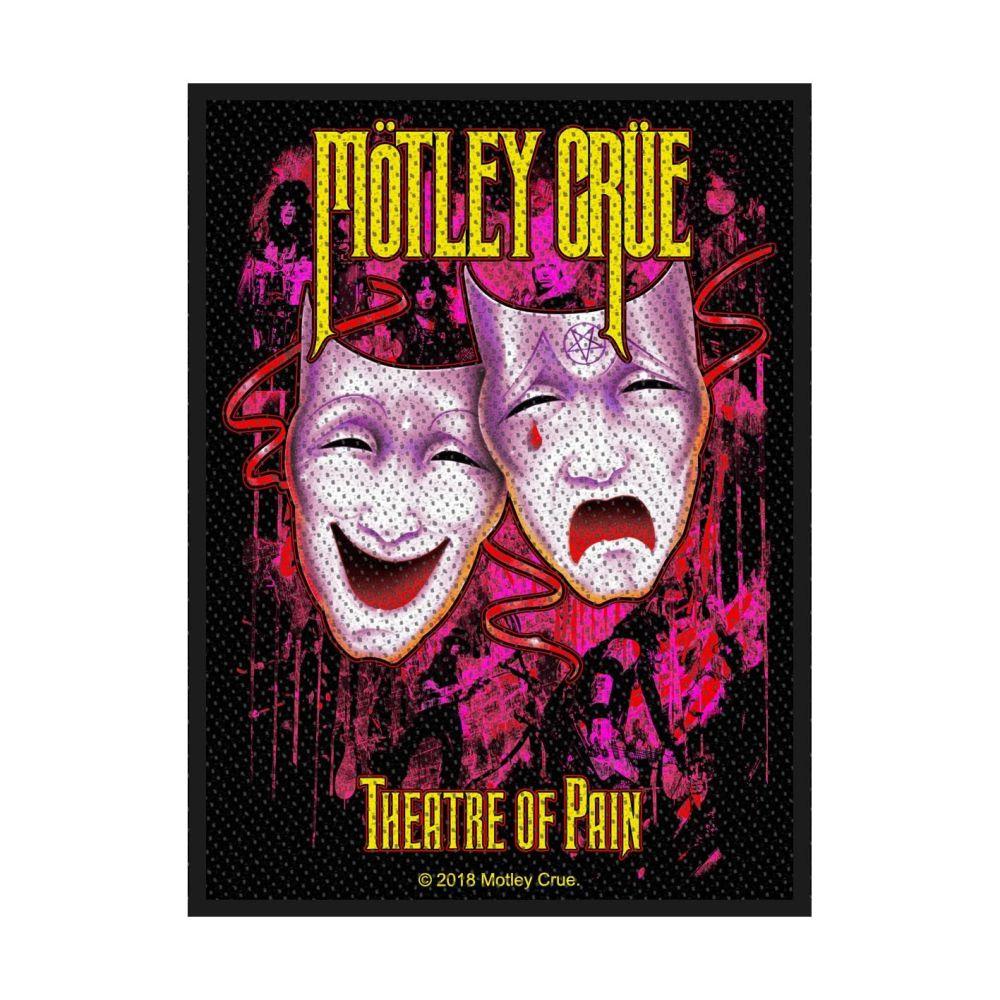 Motley Crue Theatre Of Pain Patch