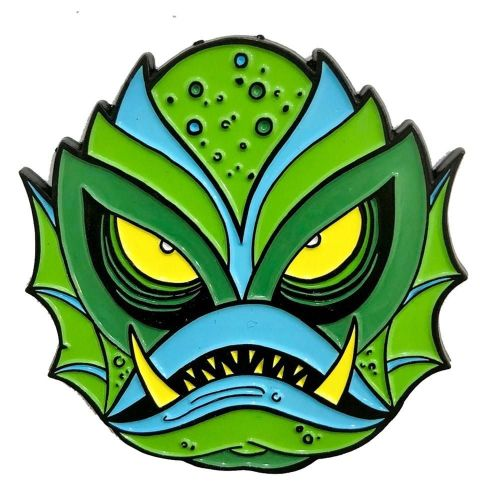 Kreepsville 666 Allan Graves Creature Monster Pin Badge