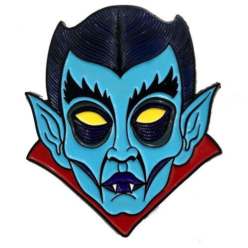 Kreepsville 666 Allan Graves Dracula Monster Pin Badge