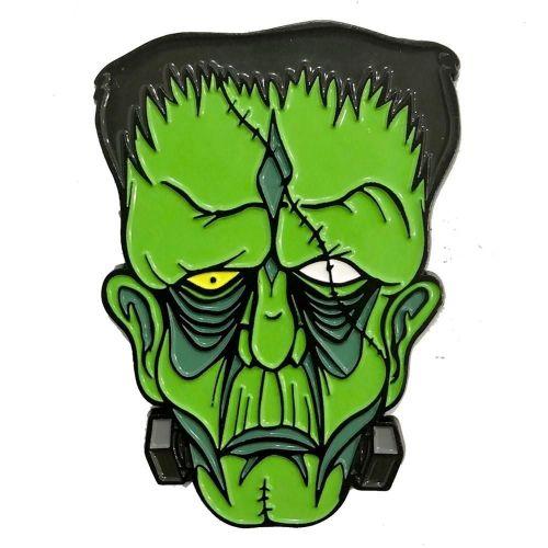 Kreepsville 666 Allan Graves Frankenstein Monster Pin Badge