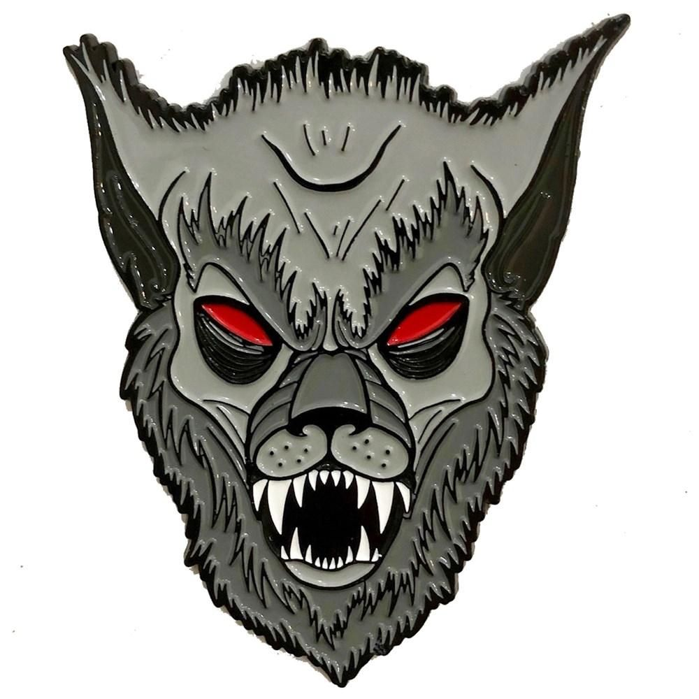 Kreepsville 666 Allan Graves Werewolf Monster Pin Badge