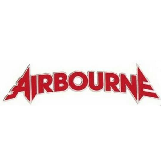 Airbourne Logo XL Patch