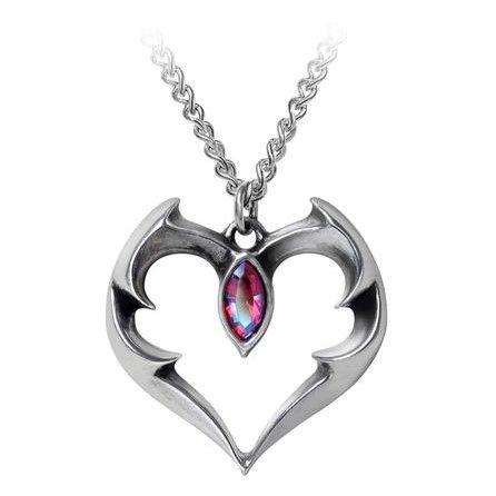 Alchemy Batheart The Vampires Kiss Necklace