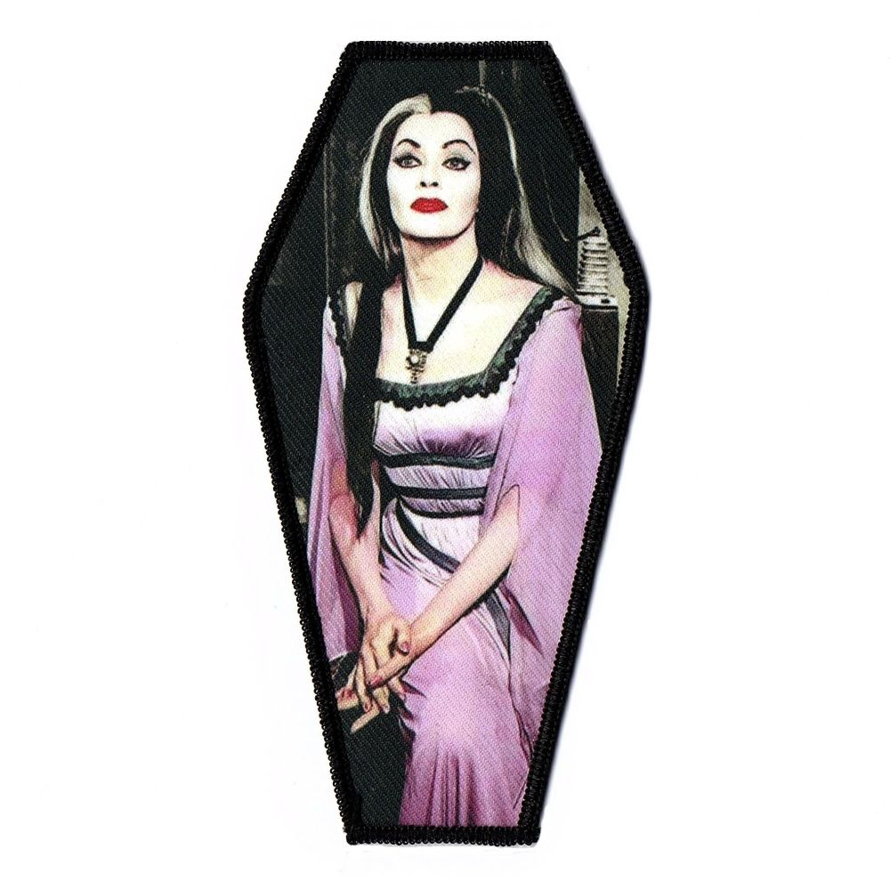 Munsters Lilly Munster Coffin Patch