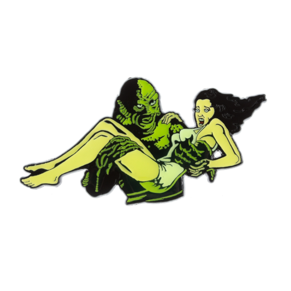 Creature From The Black Lagoon Damsel Badge