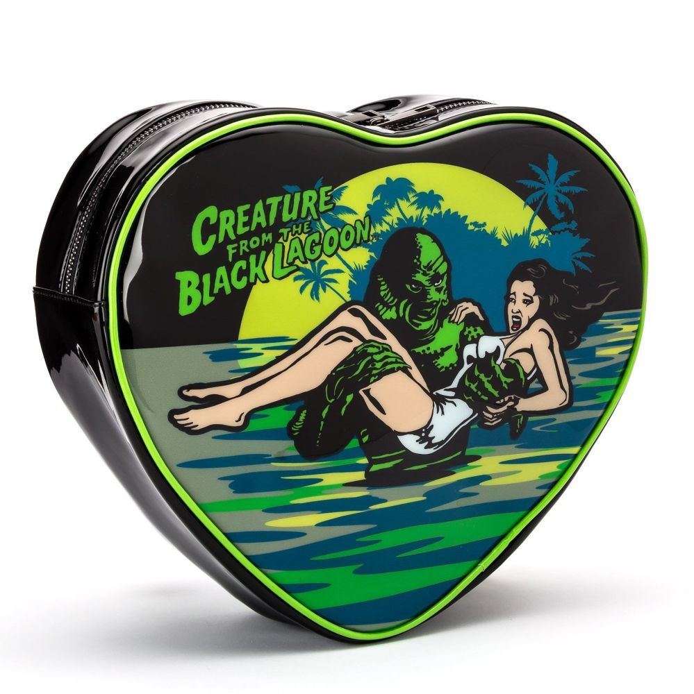 Creature From The Black Lagoon Heart Shaped Back Pack