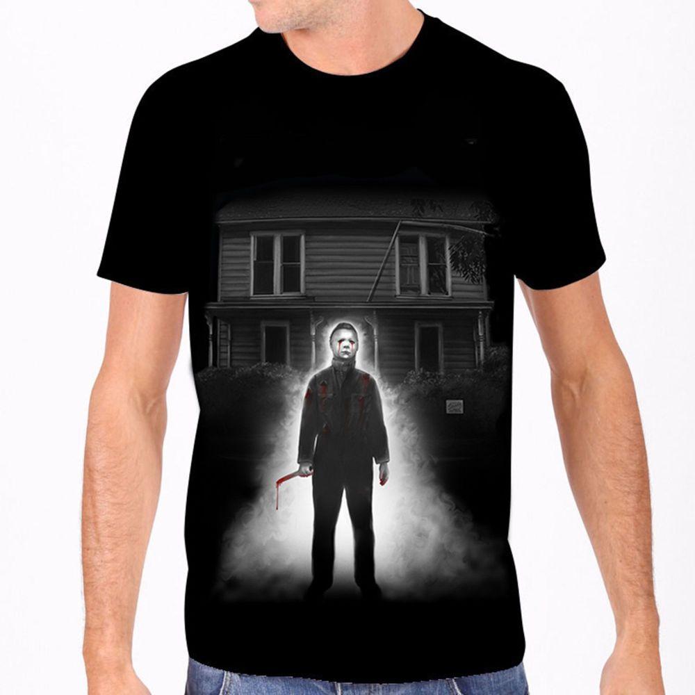 Rock Rebel Halloween Michael Myers House Tshirt