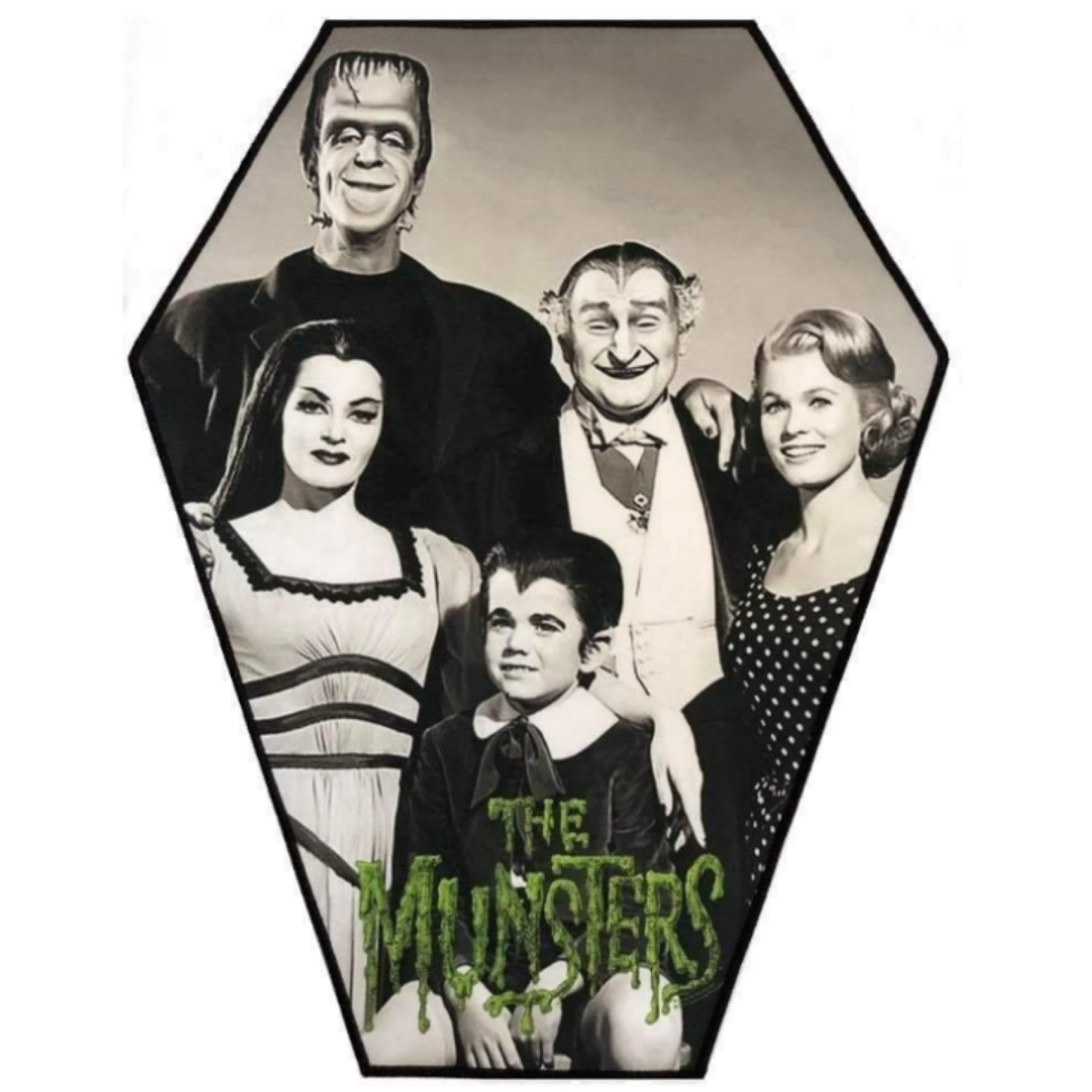 Munsters XL Coffin Patch