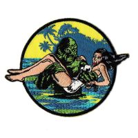 Creature From The Black Lagoon Damsel Patch
