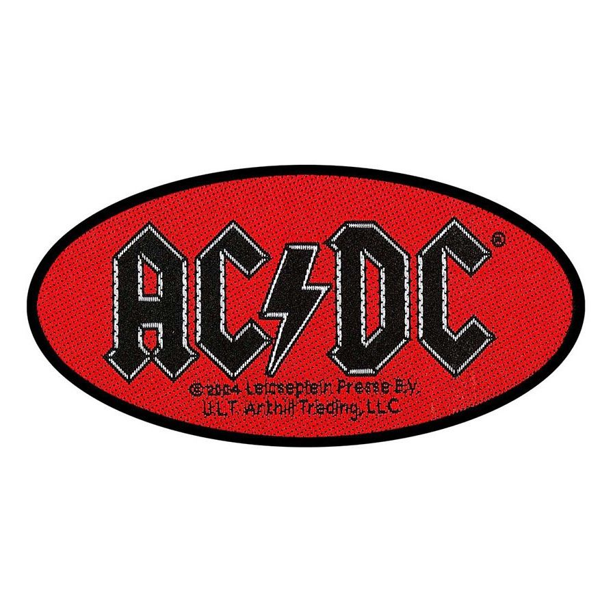 AC/DC Oval Logo Patch