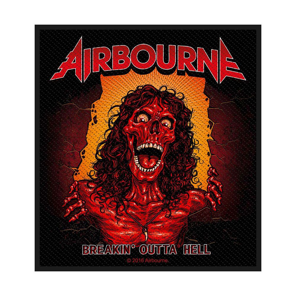 Airbourne Breakin' Outta Hell Patch