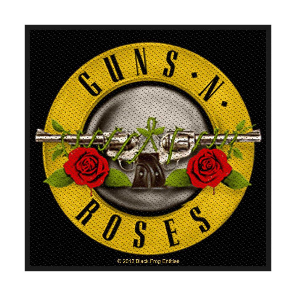 Guns N Roses Bullet Logo Patch
