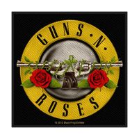 Guns N Roses Bullet Logo Patch