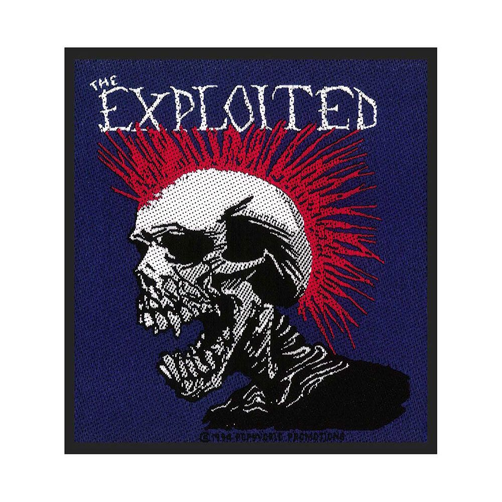Exploited Mohican Patch