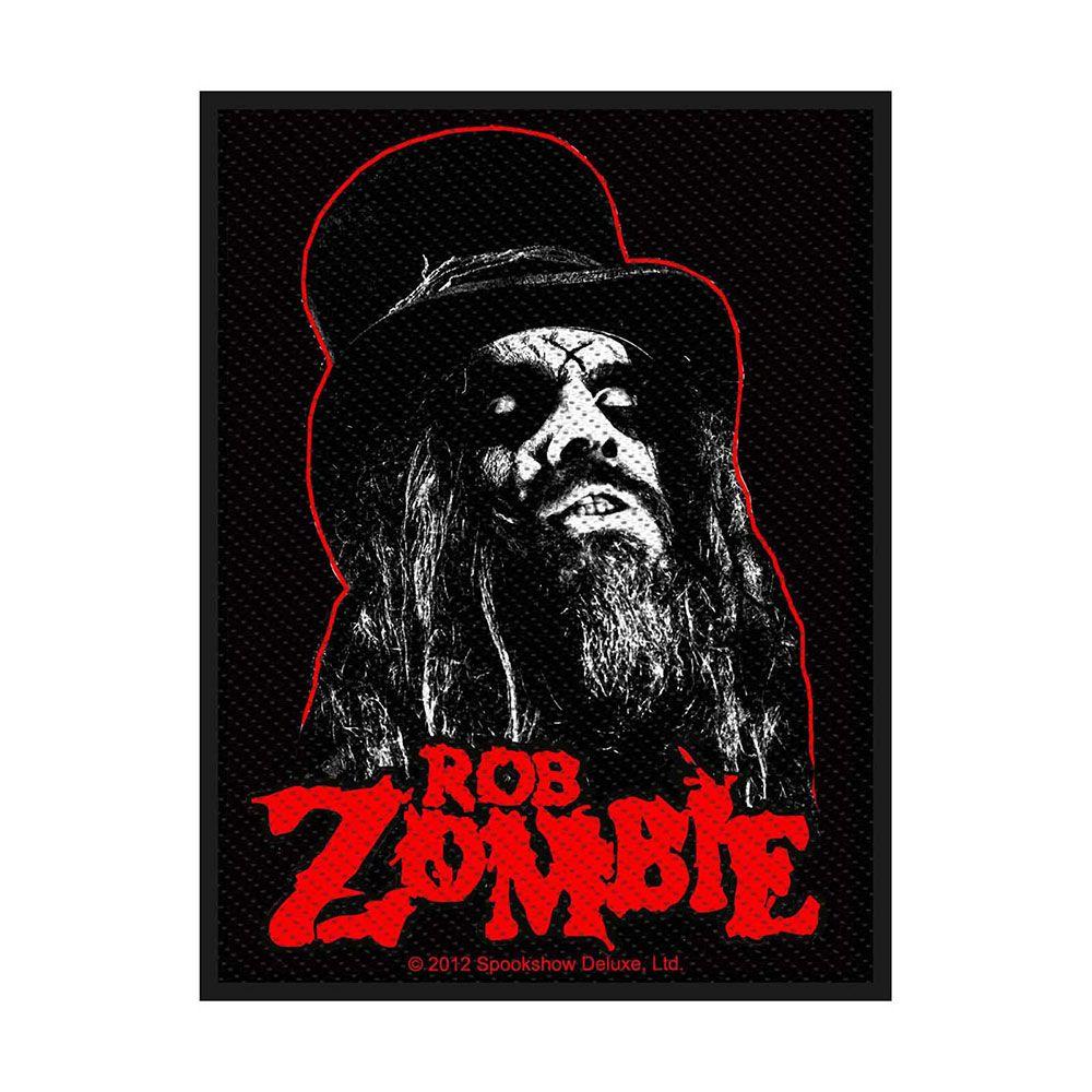 Rob Zombie Portrait Patch