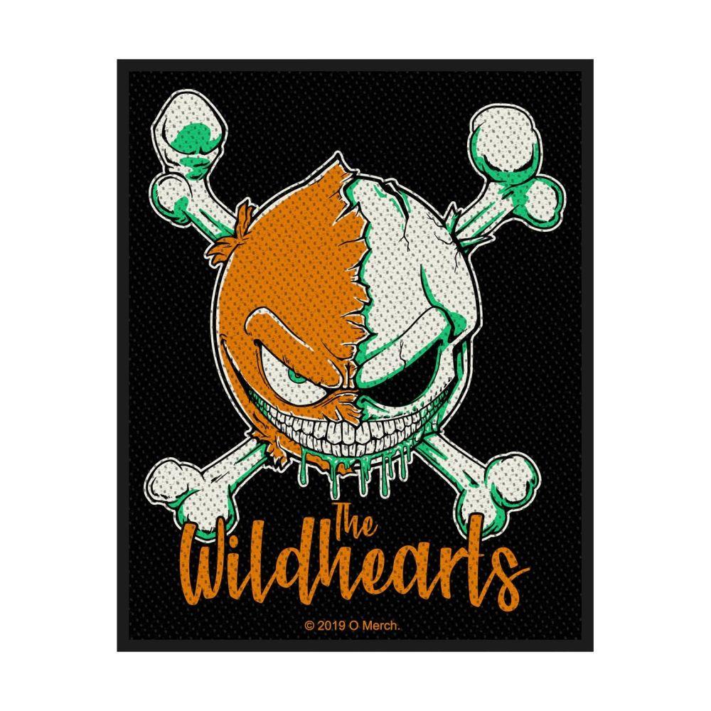 Wildhearts Green Skull Patch