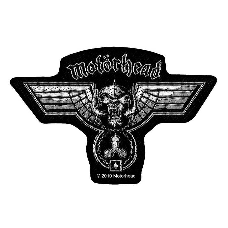 Motorhead Hammered Cut Out Patch