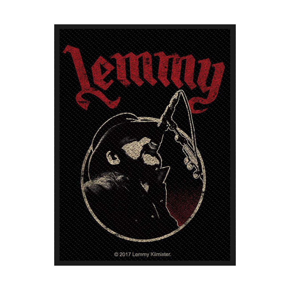 Lemmy Microphone Patch