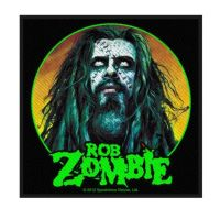 Rob Zombie Zombie Face Patch