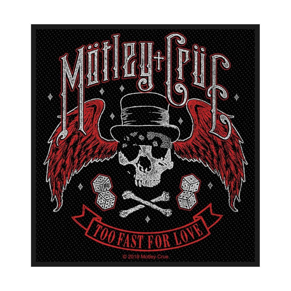 Motley Crue TooFast For Love Patch