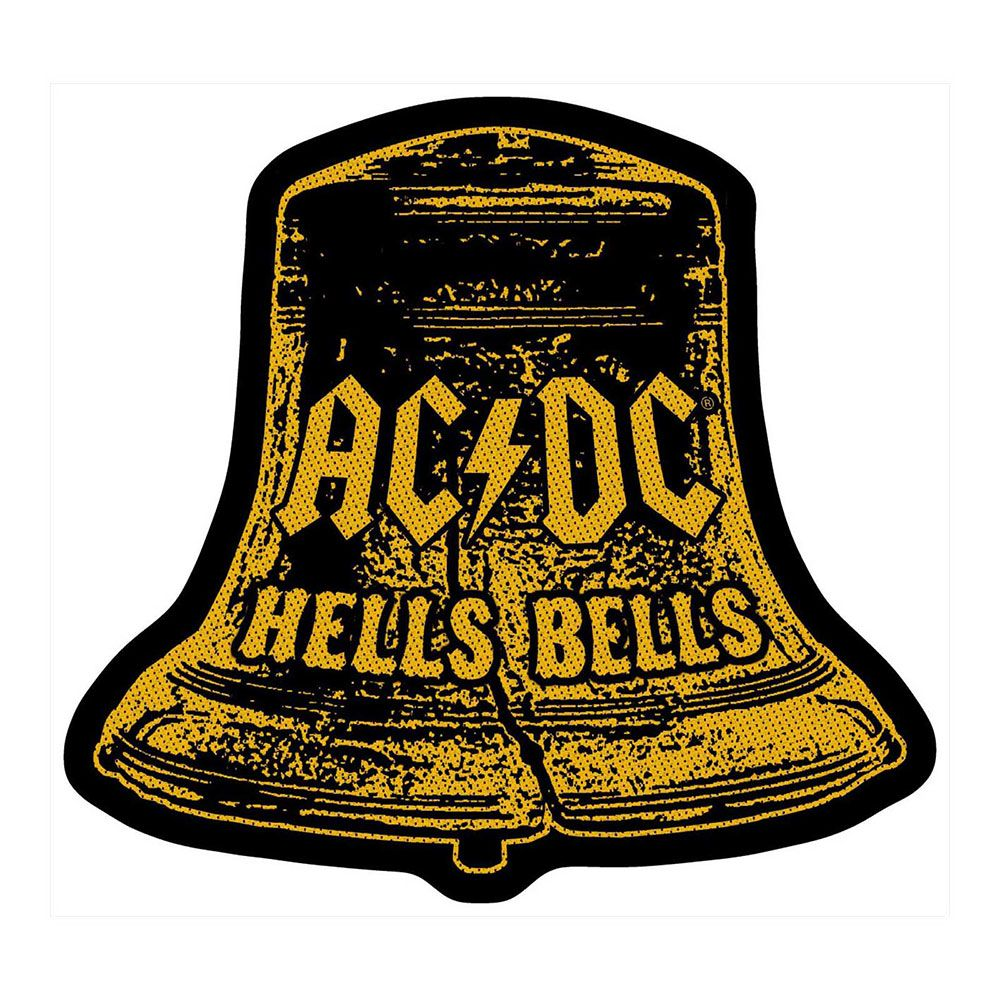 AC/DC Hells Bells Cut Out Patch