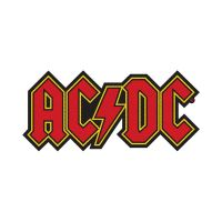 AC/DC Logo Cut Out Patch