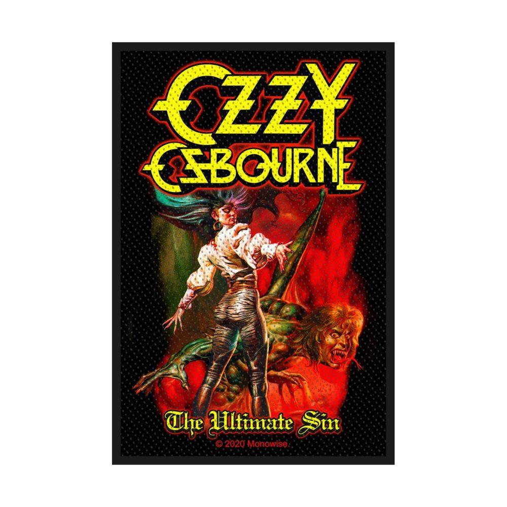 Ozzy Osbourne The Ultimate Sin Patch