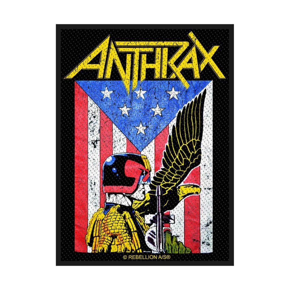 Anthrax Judge Dredd Patch