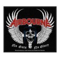 Airbourne Skull Wings Patch