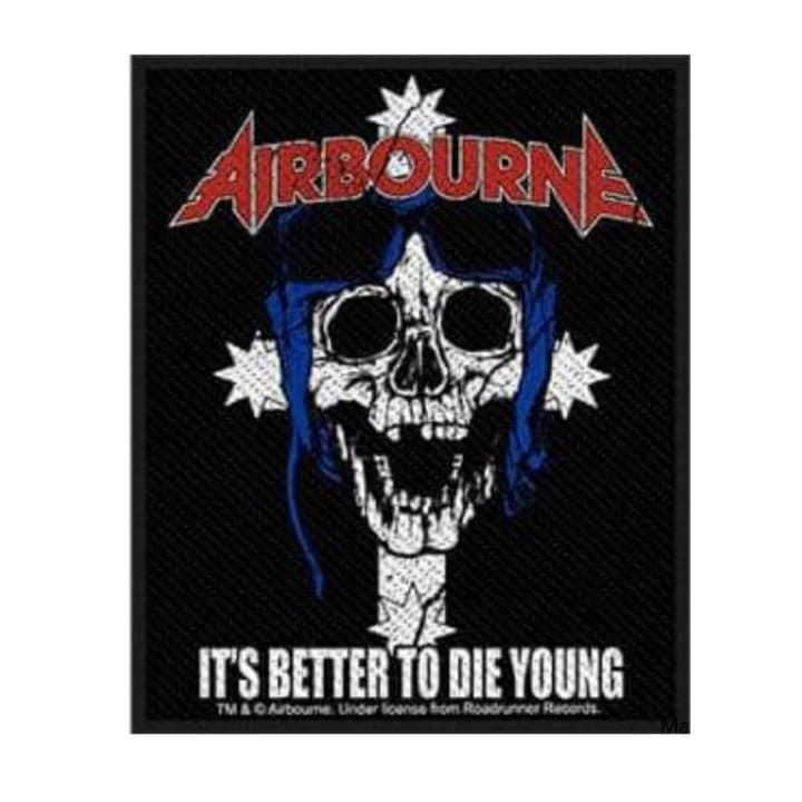 Airbourne Its Better To Die Young Patch