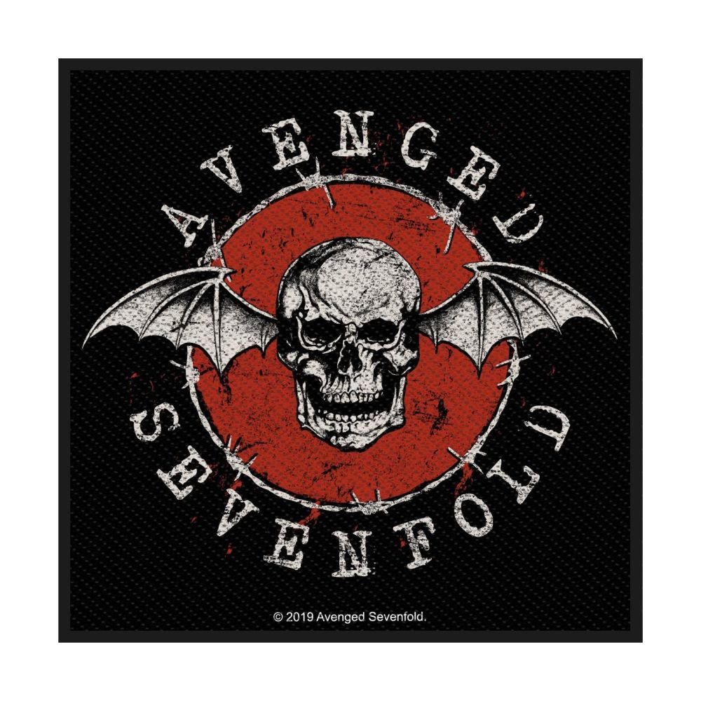 Avenged Sevenfold Distressed Skull Patch