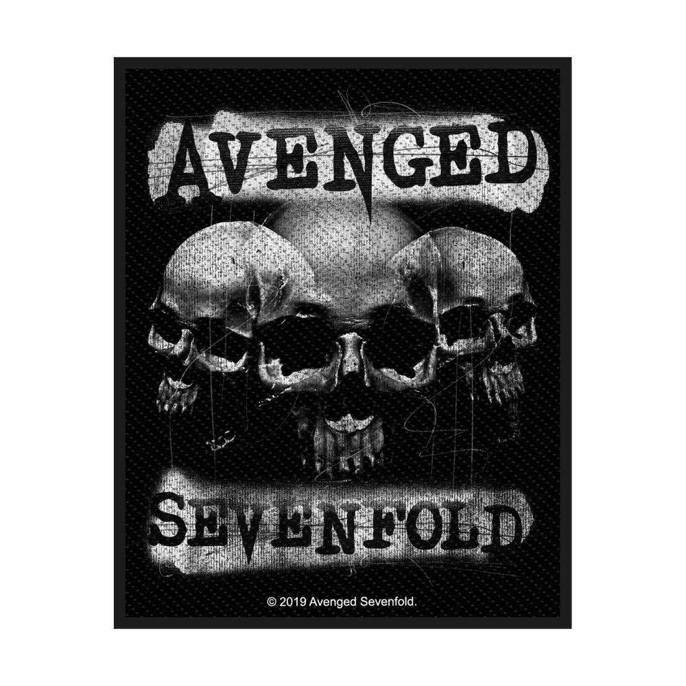 Avenged Sevenfold Three Skulls Patch