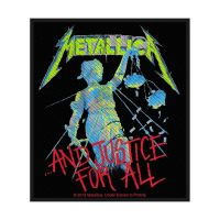 Metallica And Justice For All Patch