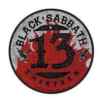 Black Sabbath 13 Flames Patch