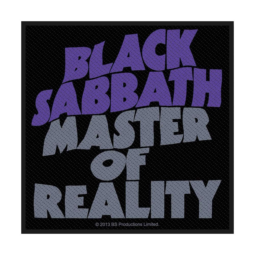 Black Sabbath Master Of Reality Patch