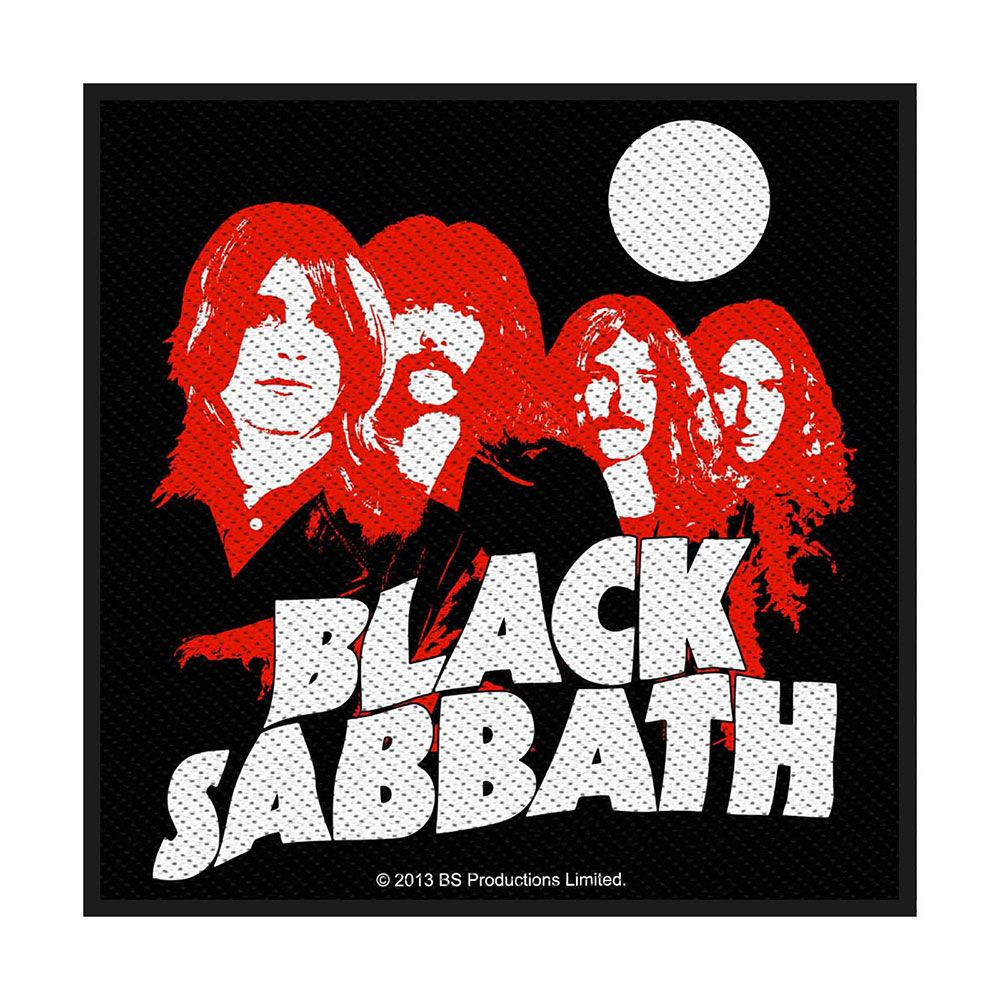 Black Sabbath Red Portraits Patch