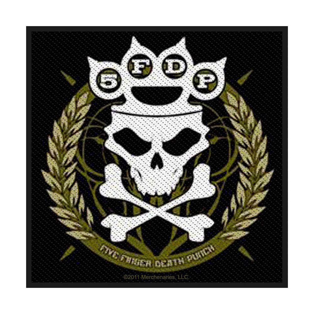 Five Finger Death Punch Knuckle Crown Patch