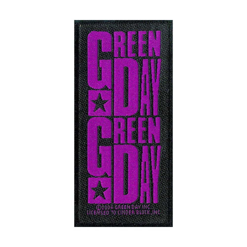 Green Day Purple Logo Patch