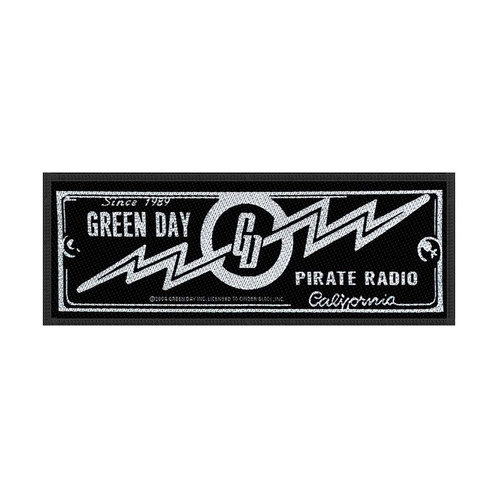 Green Day Pirate Radio Patch