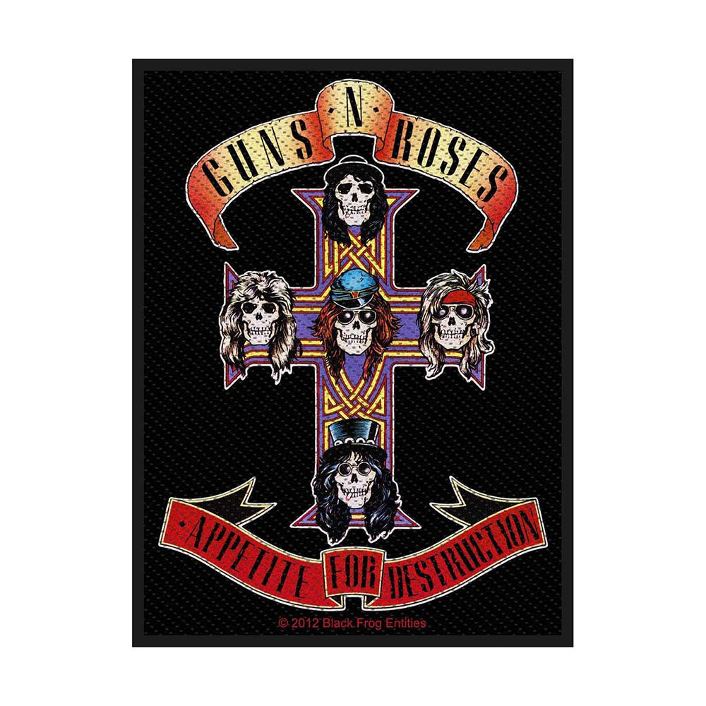 Guns N Roses Appetite For Destruction Patch