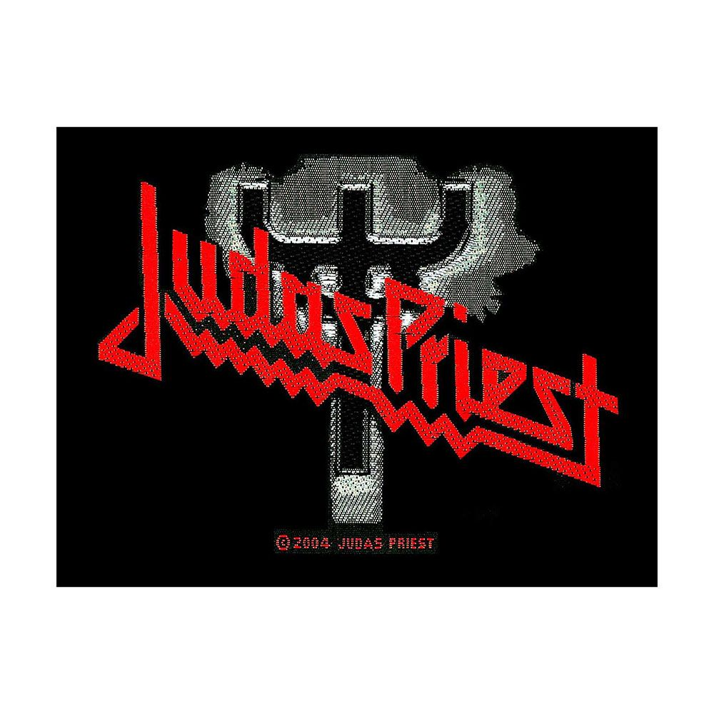 Judas Priest Fork Logo Patch